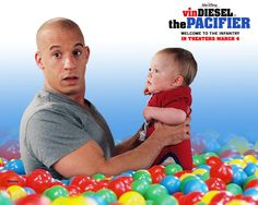 Watch Streaming HD The Pacifier, starring Vin Diesel, Brittany Snow, Max Thieriot, Brad Garrett. Disgraced Navy SEAL Shane Wolfe is handed a new assignment: Protect the five Plummer kids from enemies of their recently deceased father -- a government scientist whose top-secret experiment remains in the kids' house. #Action #Comedy #Drama #Family #Thriller http://play.theatrr.com/play.php?movie=0395699