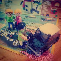 크리스마스에, 미니미니쿠퍼 선물 받은 앨리~ 부러워 하는 꼬맹이들~~ #playmobil #플레이모빌 #플모 #미니쿠퍼 #레고 #LEGO