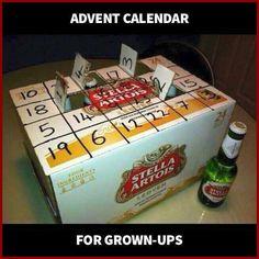 This kinda makes me wish we were a beer family lol advent calendar. This kinda makes me wish we were a beer family lol Holiday Fun, Christmas Holidays, Christmas Crafts, Merry Christmas, Christmas Ideas, Happy Holidays, Holiday Ideas, Redneck Christmas, Whimsical Christmas