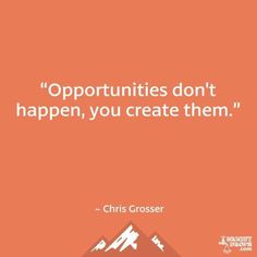 Create your own #opportunity with Catalyst Leadership Group!