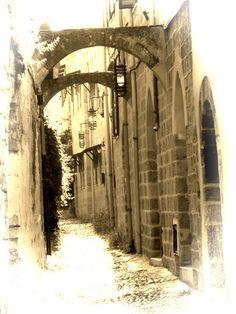 A Street in Rhodes Town