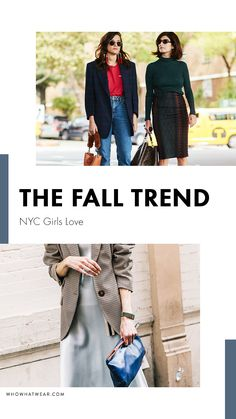 The most popular fall trend in NYC