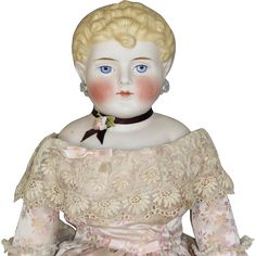 EMMA CLEAR PARIAN DOLL from honeyandshars on Ruby Lane