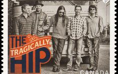 Tragically Hip postage stamp