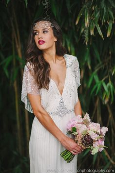 Julie Livingston Photography | Dress: Jenny Packham