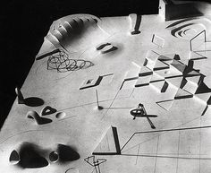 Isamu Noguchi, model for UN playground (unbuilt)