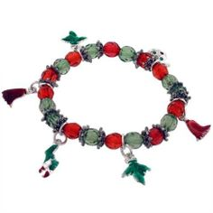 Pugster Various Winter Ornaments Dangle Charm Bracelet Pugster. $12.79. Paint Type: Enamel Painted. Chain: Elastic. Shape: Winter Ornaments. Metal: Silver Tone. Plating: Silver Tone. Save 20% Off!