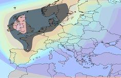 My Eurogenes k13 North Atlantic values, +/- 5% of my value of 46.04.