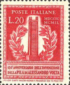 Emesso il 14 settembre 1949 20 L. - Pila di Volta