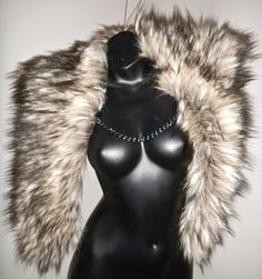 Game of Thrones Foxalicious Faux Fur Cape by Luv by LuvWarrior, $64.00