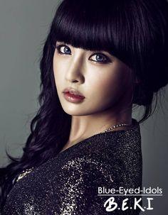 BLUE EYED K-POP IDOLS: #363  Jeon Boram - T-ARA