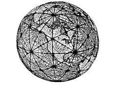 """Sphere of Tsochar (Earth Grid: Planetary Grid System~Pseudo-Scientific Explanation of Earth Energies and Ley Lines). The false prophet, Azi-baal, had a copper model of the sphere is used to teach his heretical transcedental belief about the earth's natural electromagnetic field he called the """"Ruach"""", or """"breath of God""""."""
