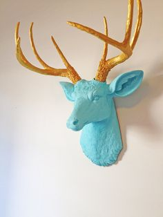 Deer Head Decor Bedroom Boy Rooms