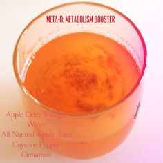 Easy Metabolism Boosting Shot - Diary of a Fit Mommy - Meta-D by Tone it Up fitness. Morning Meta-D metabolism wake up and go drink! Apple Cidar Vinegar, Apple Cider Vinegar Facial, Apple Cider Vinegar Remedies, Up Fitness, Pregnancy Nutrition, Boost Metabolism, Apple Juice, Tone It Up, Nutrition Tips