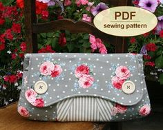 Casablanca Clutch PDF Sewing Pattern