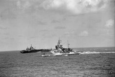 Ships of the Eastern Fleet, HMS Warspite in foreground, HMS Illustrious (left) and in the distance the aircraft carrier HMS Formidable. Hms Illustrious, Camouflage Patterns, Navy Ships, Aircraft Carrier, Royal Navy, Battleship, Military History, World War Two, Wwii