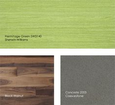 green wood stain by Sherwin Williams