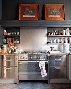 Amazing stainless steel kitchen