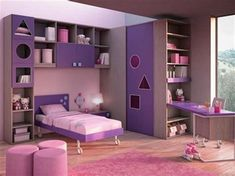 bedroom colors purple paint combination pink bed choose wall painting schemes rooms trendy bedrooms lavender decor desk carpet teenage mexican