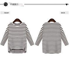 Coronini 3/4-Sleeve Striped T-Shirt   YESSTYLE