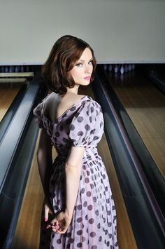 Portrait of the pop singer Sophie Ellis-Bextor, from a photo session for Recognise magazine, United Kingdom, 2011, photograph by Laura Small.