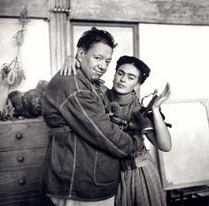 Frieda Kahlo & Diego Rivera @Carrie Mcknelly McGann @Ana Maranges Voznyuk