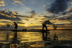 Two fisherman by Saravut Whanset on 500px
