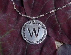 All in the Family Necklace by ohanabylea on Etsy, $52.00