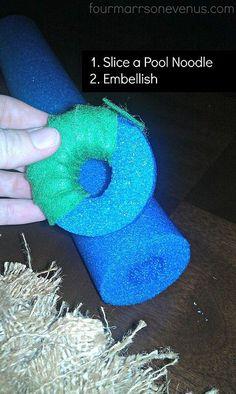 berlap christmas wreaths | Christmas Burlap Wreath :: Hometalk