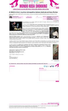 la retrospettiva dedicata ad Hans Richter. Dadaismo.
