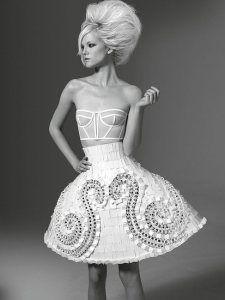 Versace Fall 2011: mantua
