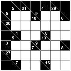 Number Logic Puzzles: 24069 - Kakuro size 1