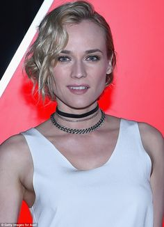 What a ride! Diane Kruger goes hell for leather as poses with new Audi #dailymail
