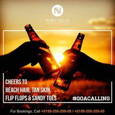 #cheers to #beach hair #tanskin #flipflops & #sandytoes #goacalling #noravillas #noraspiritualvilla #travelideas #vacation #holiday #news #deals #india #luxury #hotel #travel #premium #destination #goa #condenast #traveller #eatdrinksleeprepeat #villas #villa #russian #russia #iloveyoga #roomwithaview #exclusiveluxury