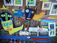Two Bad Dogs Folk Art is hosting an opening reception for artist Rose Rosely (RPCV Ghana)