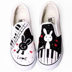 Buy 'HVBAO – Printed Canvas Slip-Ons' at YesStyle.com plus more China items and get Free International Shipping on qualifying orders.