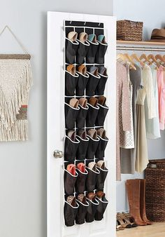 "Promising Review: ""This shoe organizer helps me keep my bathroom countertop and under-the-sink area way less cluttered. The mesh pockets allow me to quickly see where all my hair products, extra toothbrushes, sunscreen, travel sized toiletries, etc., are. I'm considering getting another one for the inside of my closet door to actually keep my shoes in!"" —LuluNlalalandGet it on Amazon for $10.95."