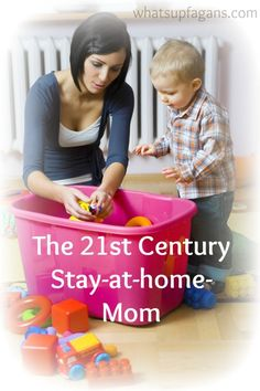 21st Century stay at home moms - What do they do all day?