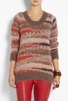 Jacquard Chunky Sweater by Vanessa Bruno Athé
