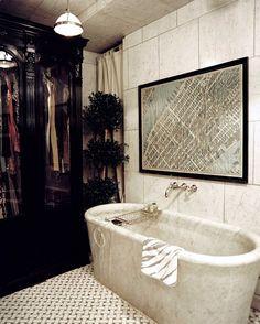 -celerie kemble...the most beautiful bathtub, ever