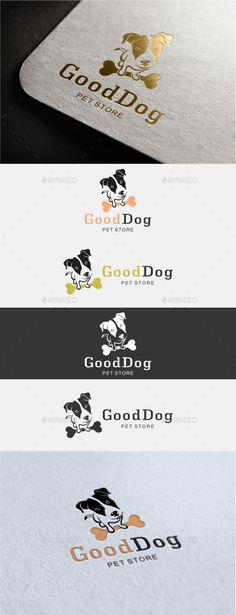 Good Dog Logo - Animals Logo Templates                                                                                                                                                                                 More