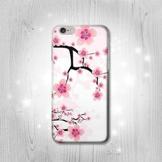 Plum Blossom Case For iPhone 7 7 Plus 6 6S 6 SE 5 by Lantadesign