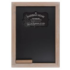 Parisian Home Old School House Style Wooden Framed Chalkboard – lightaccents.com