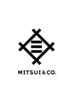Mitsui Bussan new universal corporate logo. Designed by Kashiwa Sato | 佐藤可士和