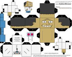 Cubee - Dr. Julius Hibbert by CyberDrone.deviantart.com on @deviantART