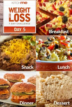 Weight Watchers Day 5 Meal Plan – 7 Day Weight Loss Challenge Recipes