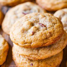 Butter Pecan Cookies @keyingredient