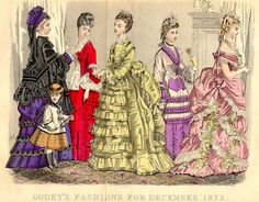 Godey's Ladys Book Christmas 1873