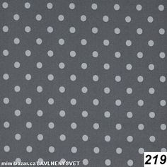 180**KOČÁRKOVINA šusťák Velký puntík