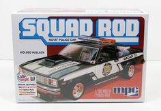 Shore Line Hobby - MPC 851 Squad Rod Nova Police Car 1/25 New Plastic Car Model Kit